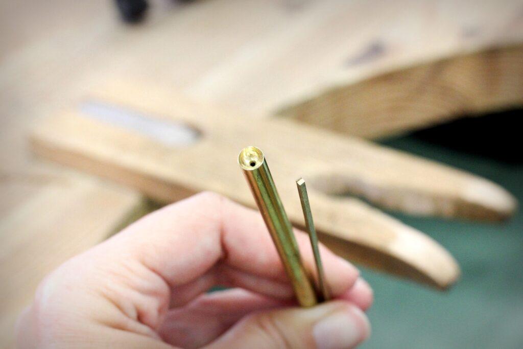Matériel nécessaire à la réalisation d'une bague en serti tube