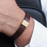 Bracelet personnalisable - KSL Leather Factory - 40€