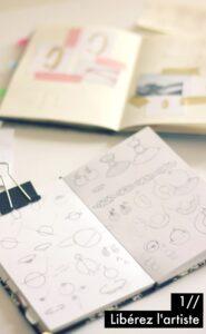 Les étapes de la création d'une collection - étape 1 : liberez l'artiste ! à retrouver sur www.apprendre-la-bijouterie.com