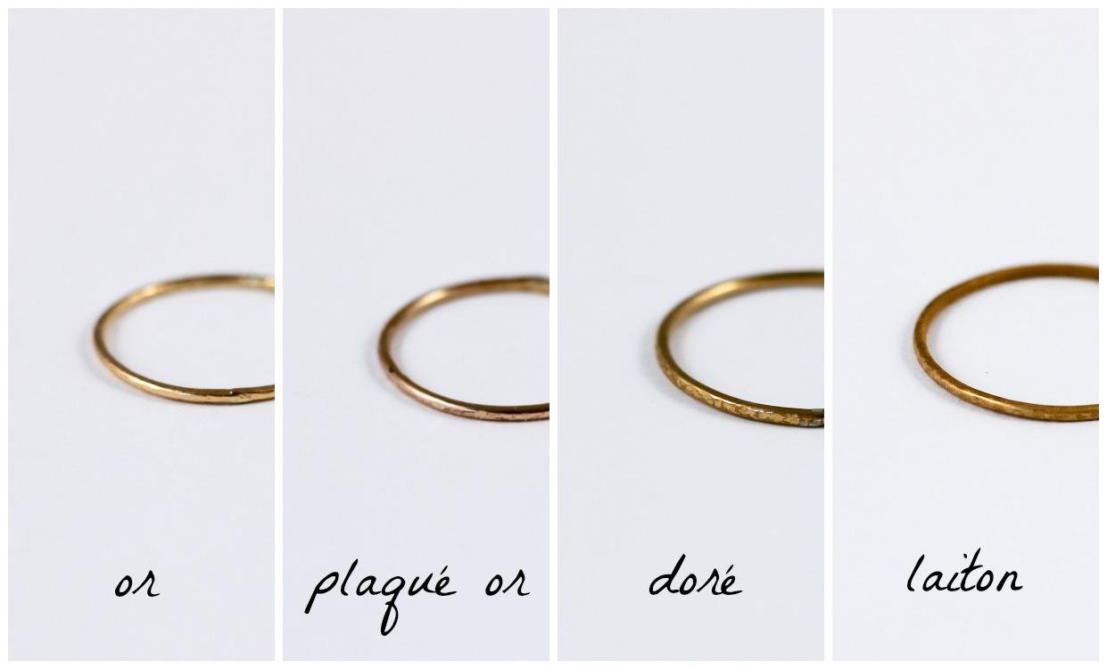 Crash test de 4 materiaux differents - le résultat, 1 an après ! - www.apprendre-la-bijouterie.com