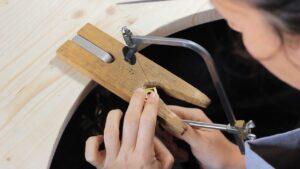 Apprendre à limer le métal comme un pro - en vidéo sur www.apprendre-la-bijouterie.com