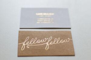 La carte de visite, l'indispensable pour tout créateur ou créatrice ede bijoux. C'est le lien avec sa clientèle, alors autant la soigner !