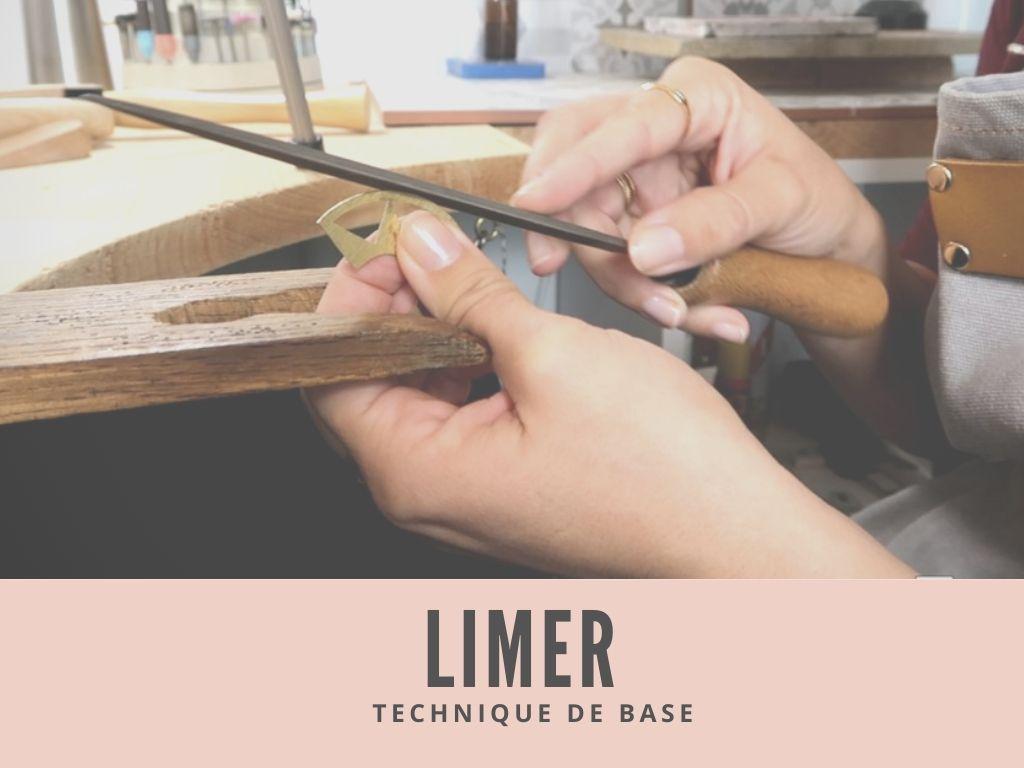 Creation de bijoux - apprendre à limer le métal